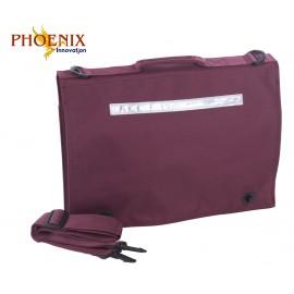 *NEW* Phoenix Document Cases - Maroon