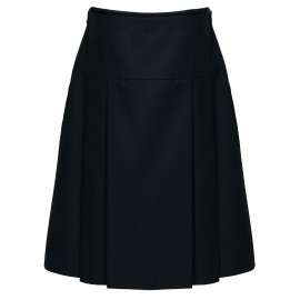 *NEW* Drop Waist Pleated Skirts - Black