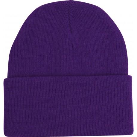 Ski Hat Purple