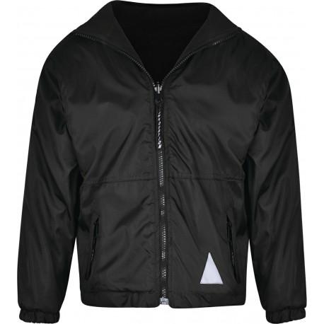 Reversible Fleece Jacket Black