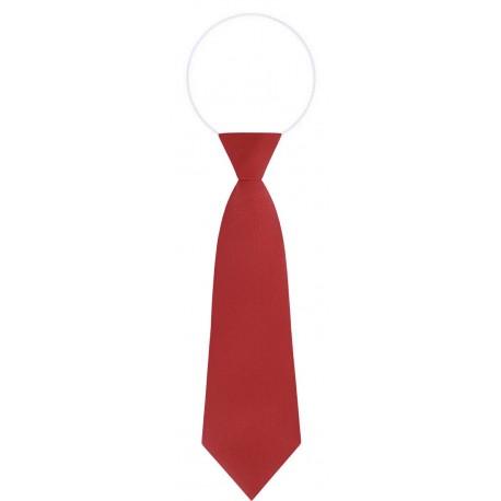 Plain Elastic Ties - Per 12 - Red