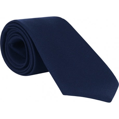 Plain Youths Ties - Per 12 - Navy