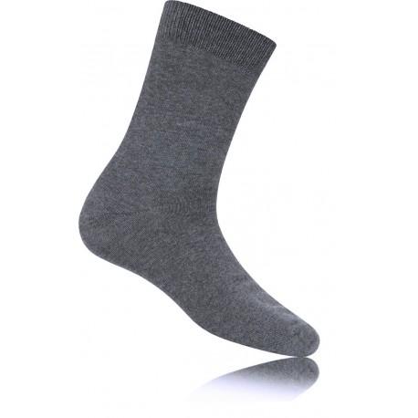 Cotton Lycra Ankle Socks - Per 12 - Grey